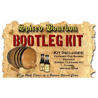 Spiced Bourbon Whiskey White Oak Barrel Making Kit