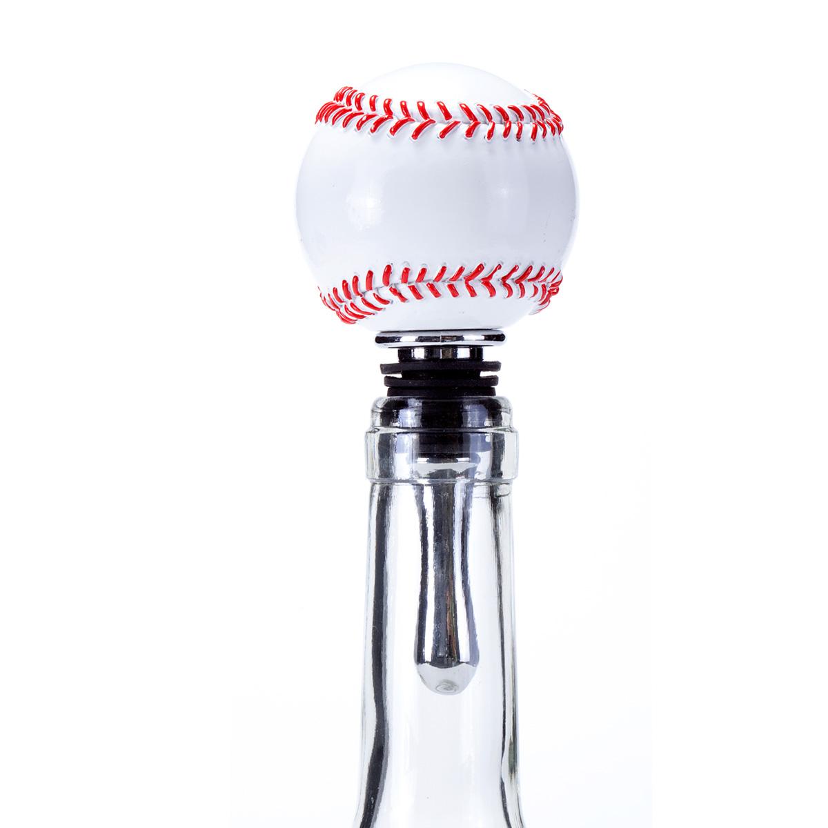 Baseball Wine Bottle Stopper