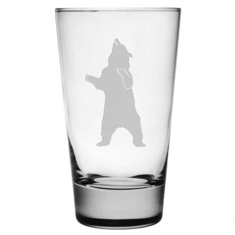 Standing Bear Highball Glasses (set of 4)