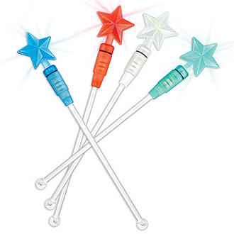 Illuminating Star Drink Stirrer