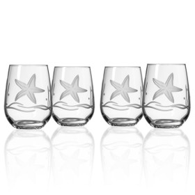 Starfish Red Wine Tumblers (set of 4)