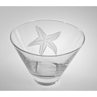 Starfish Martini Tumblers (set of 4)