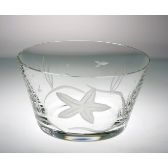 Starfish Clear Small Bowls