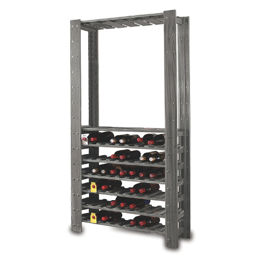 Swedish Wine Center Wine Rack - Stone Gray