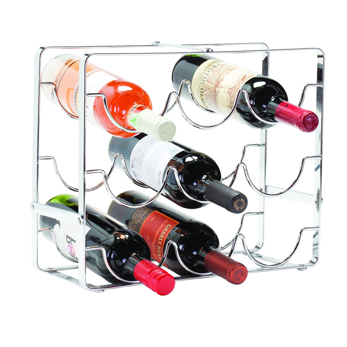 Swell 9 Bottle Wine Rack