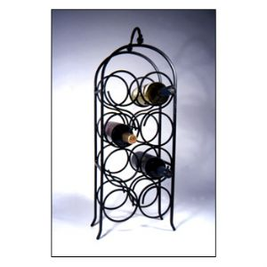 Wine Arch 8 Countertop Wrought Iron Wine Rack