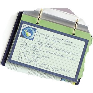 Mediterranean Recipe Cards Refill Pack