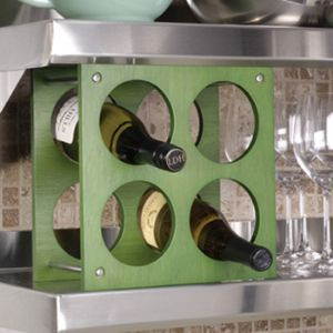 Nolita 4-bottle Wine Rack