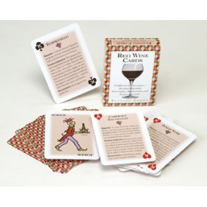 Red Wine Playing Cards Standard 52 Card Deck