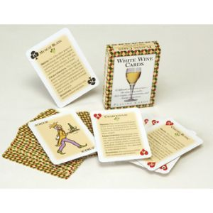 White Wine Playing Cards Standard 52 Card Deck
