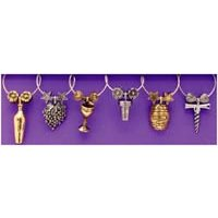Grapevine Wine Charms