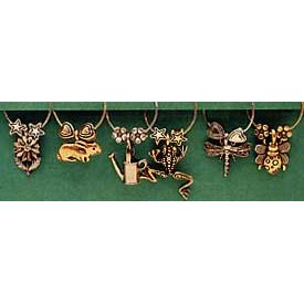 Buds And Bugs Stemware Charms