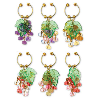 Very Berry - My Glass Wine Charms