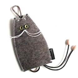 Gatto Key Ring Holder