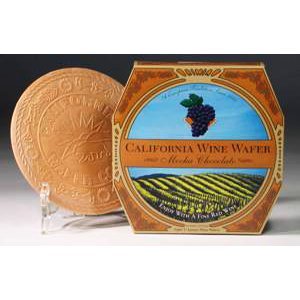 California Wine Wafer Mocha-Chocolate
