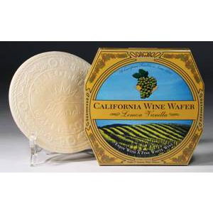 California Wine Wafer Lemon-Vanilla