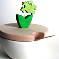 Frog Cheese/Sugar Dish