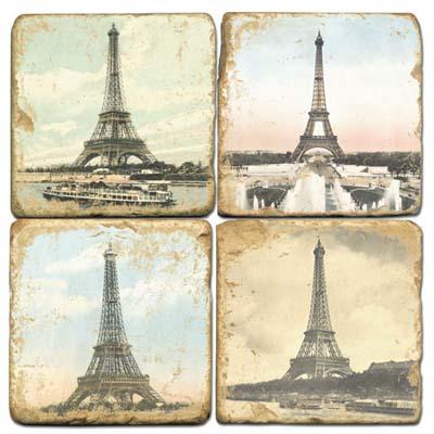 Eiffel Tower Drink Coasters