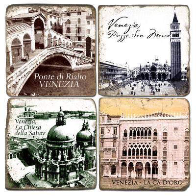 Venezia Marble Coasters