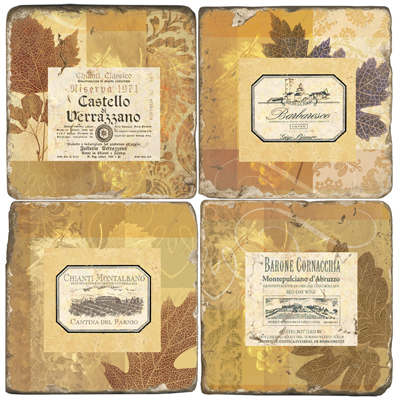Scaletta Wine Coasters