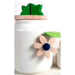 Daisy Cookie Jar