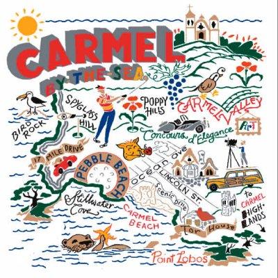 Carmel Dish Towel