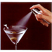 Martini Atomizer and Funnel Spray Mister