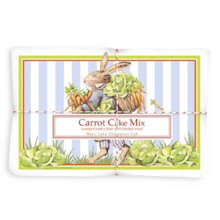 Cabbage Rabbit Carrot Cake Mix & Towel