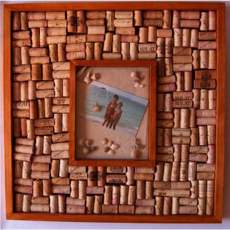 Shadow Box Wine Cork Bulletin Board Kit