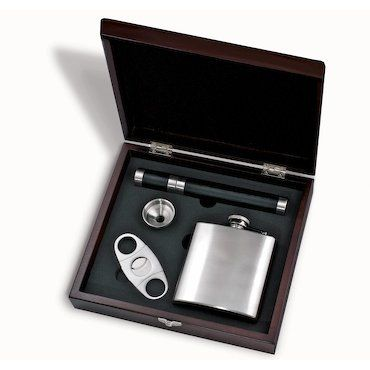 Custom Cigar Bar Gift Set