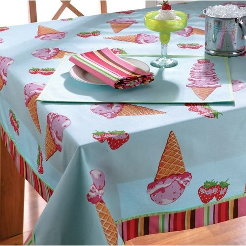 Scoop Time Tablecloth