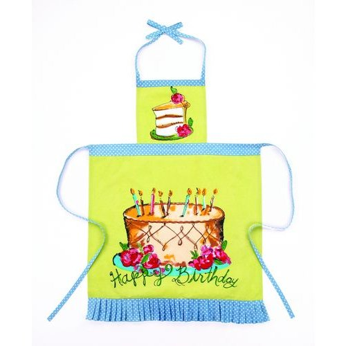 Happy Birthday Apron By Julia Junkin