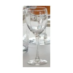Monogram Wine Goblets (set of 4)