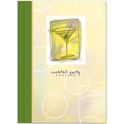 Contemporary Cocktail Party Journal