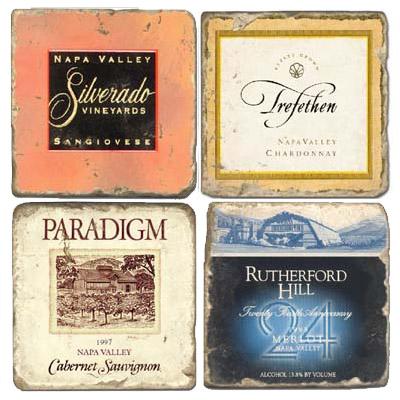 Napa Wine Coasters