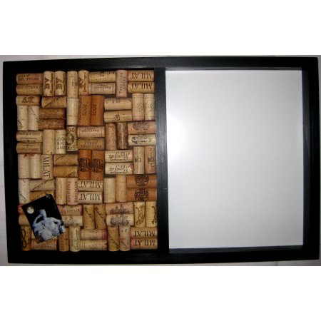 Dry Erase Message Center Wine Cork Board
