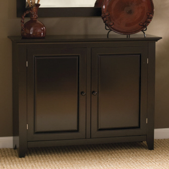 Wine Glass Cabinet: Raised Panel Buffet
