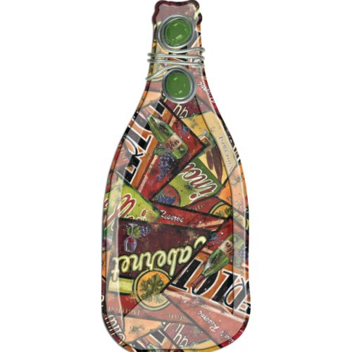 Melted Glass Bottle Includes Spreader