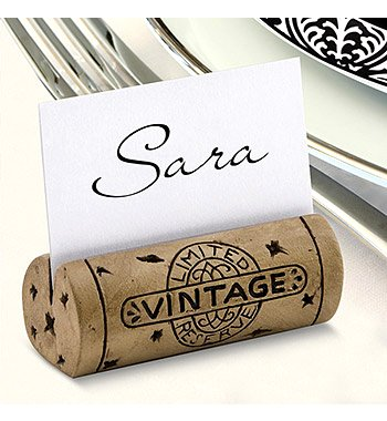 Got Cork Table Place Card Holders (set of 4)