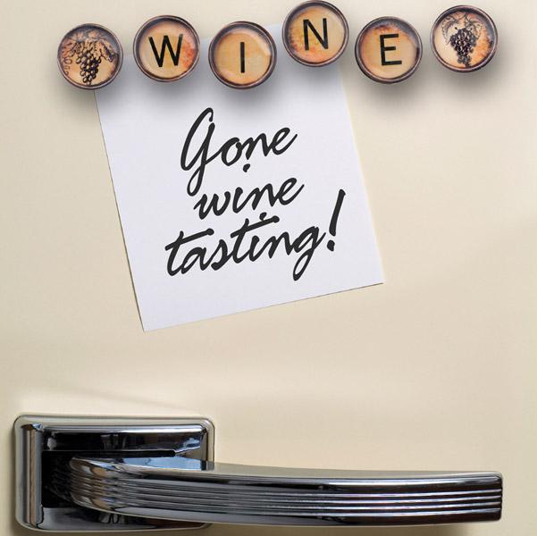 Got Cork Wine Cellar Magnet Set