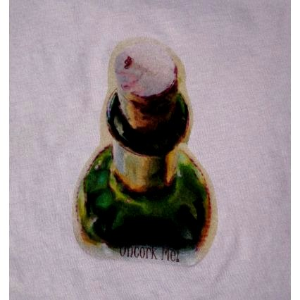 Uncork Me! Watercolor Design Tee