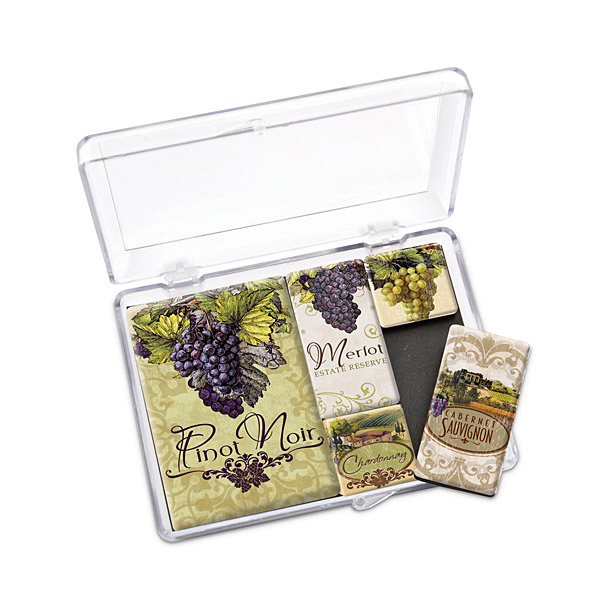 Wine Themed Magnet Gift Sets
