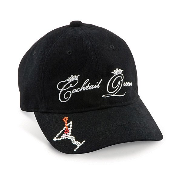 Cocktail Queen Baseball Hat
