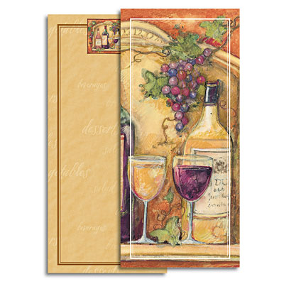 Wine Cellar Covered Mini List Pad