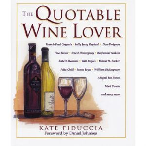 Quotable Wine Lover Book