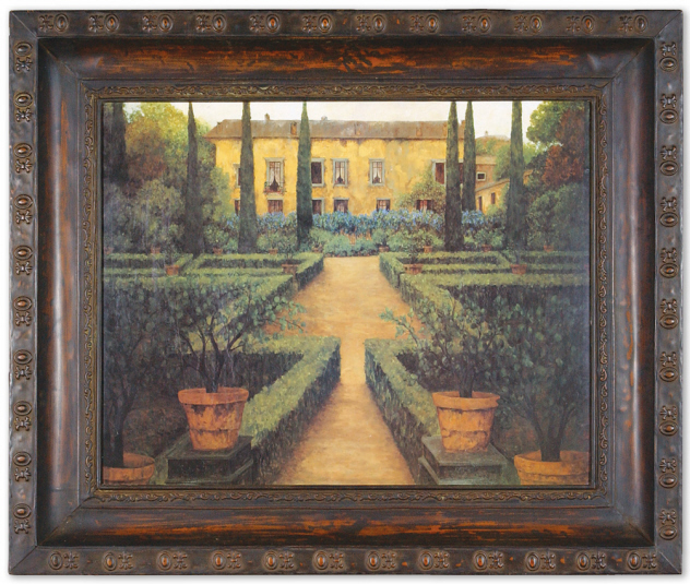 Garden Manor Framed Tuscan Wall Decor