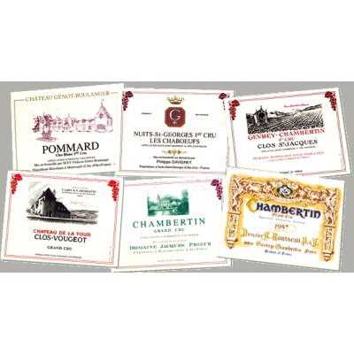 Bourgogne Wine Placemats (set of 4)