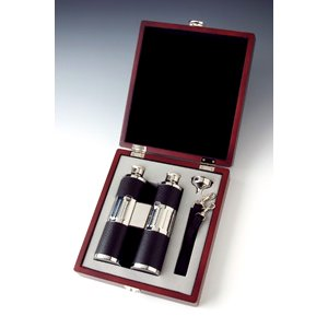 Binocular Flask Set 8 oz.
