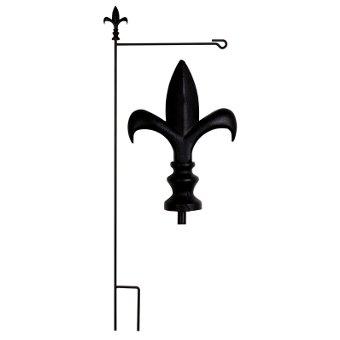 Fleur de Lis Estate Garden Size Flag Pole