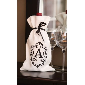 Monogram Wine Bottle Bag